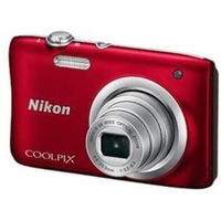 "Фотоаппарат Nikon CoolPix A100 красный 20Mpix Zoom10x 2.7"" 720p SDXC CCD 1x2.3 IS el 10minF/Li-Ion. Интернет-магазин Vseinet.ru Пенза"