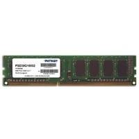 Модуль памяти  Patriot Memory, DDR3, 8Гб, 1600МГц, 11-11-11 (PSD38G16002). Интернет-магазин Vseinet.ru Пенза