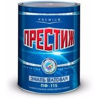 """Эмаль ПФ-115 (Белая 10 кг) """"ПРЕСТИЖ"""". Интернет-магазин Vseinet.ru Пенза"""