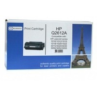 Blossom BS-HPQ2612A Black for HP LJ 1010/1012/1015/1018/3015/3020/3030/3050/3052/3055. Интернет-магазин Vseinet.ru Пенза