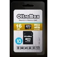 OLTRAMAX MicroSDHC 16GB Class10 + адаптер SD. Интернет-магазин Vseinet.ru Пенза