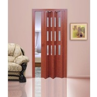 Дверь раскладывающаяся Фаворит вишня (с декоративными вставками) (840мм*2005мм). Интернет-магазин Vseinet.ru Пенза