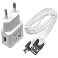 Сетевое зарядное устройство OLTO WCH-4103, microUSB, 5В, белое. Интернет-магазин Vseinet.ru Пенза