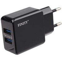 Finity 2xUSB 2.1A/1A FT-01 Black. Интернет-магазин Vseinet.ru Пенза