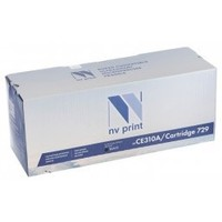 NV Print CE310A/CRG729 Black для HP LaserJet Color CP1025 1200k. Интернет-магазин Vseinet.ru Пенза