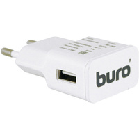 Сетевое зарядное устройство Buro TJ-159W, 5В, белое. Интернет-магазин Vseinet.ru Пенза