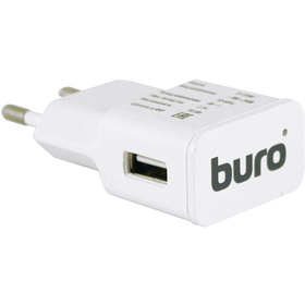 Сетевое зарядное устройство Buro TJ-159W, 5В, белое