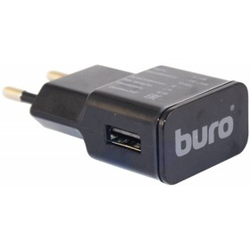 Сетевое зарядное устройство Buro TJ-159B, 5В, черное