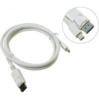 Telecom Mini DisplayPort M - Display Port M 1.8m TA681 White. Интернет-магазин Vseinet.ru Пенза