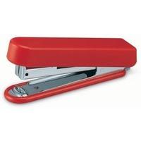 Степлер ручной Kw-Trio 5101RED N10 (10листов) встроенный антистеплер красный 50скоб металл/пластик. Интернет-магазин Vseinet.ru Пенза
