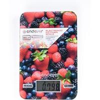 Весы кухонные Endever Skyline KS-528 , многоцветные с рисунком «ягоды». Интернет-магазин Vseinet.ru Пенза