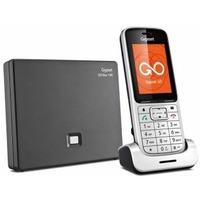Телефон IP Gigaset SL450A GO серебристый. Интернет-магазин Vseinet.ru Пенза