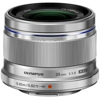 Olympus M.Zuiko Digital 25 mm f/1.8 for Micro Four Thirds Silver*. Интернет-магазин Vseinet.ru Пенза