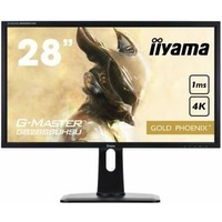 "Монитор Iiyama 28"" GB2888UHSU-B1 черный TN LED 5ms 16:9 HDMI M/M матовая HAS Pivot 300cd 178гр/178гр 1920x1080 D-Sub DisplayPort FHD 5.3кг. Интернет-магазин Vseinet.ru Пенза"