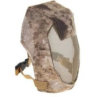 "Маска для страйкбола KINGRIN Face steel ""Striker"" Gen3 metal mesh full face mask (A-tacs) MA-12-AT, KINGRIN. Интернет-магазин Vseinet.ru Пенза"