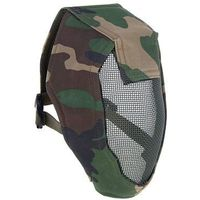 "Маска для страйкбола KINGRIN Face steel ""Striker"" Gen3 metal mesh full face mask (Woodland) MA-12-WL, KINGRIN. Интернет-магазин Vseinet.ru Пенза"