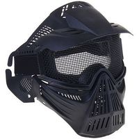 Маска для страйкбола KINGRIN Tactical gear mesh full face mask (Black) MA-07-BK   1347541, KINGRIN. Интернет-магазин Vseinet.ru Пенза
