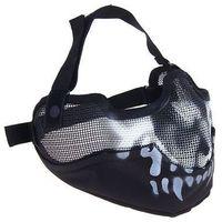 Маска для страйкбола KINGRIN V2 strike metal mesh mask (Skull) MA-10-WB   1347508, KINGRIN. Интернет-магазин Vseinet.ru Пенза