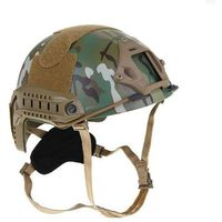 Шлем для страйкбола KINGRIN FAST helmet MH version  low version(Multicam) HL-08-MH-CP   1347582, KINGRIN. Интернет-магазин Vseinet.ru Пенза
