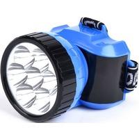 Фото SMARTBUY SBF-25-B аккумуляторный налобный фонарь 1ВТ + 8 LED синий. Интернет-магазин Vseinet.ru Пенза