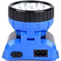 SMARTBUY SBF-25-B аккумуляторный налобный фонарь 1ВТ + 8 LED синий. Интернет-магазин Vseinet.ru Пенза