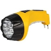 Аккумуляторный светодиодный фонарь 15+10 LED с прямой зарядкой SMARTBUY, желтый (SBF-89-Y) 1/60. Интернет-магазин Vseinet.ru Пенза