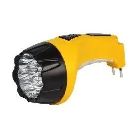 Аккумуляторный светодиодный фонарь 15+10 LED с прямой зарядкой SMARTBUY, желтый (SBF-89-Y) 1/60