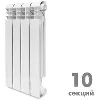 Радиатор алюминевый KONNER LUX 80/500, 10 секции. Интернет-магазин Vseinet.ru Пенза