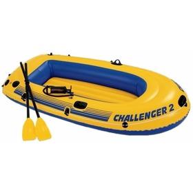 Лодка надувная Intex Challenger-2 Set 68367