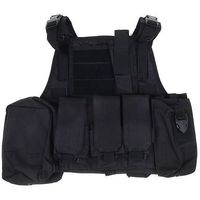 Жилет разгрузочный KINGRIN Tactical vest (Black) VE-03-BK   1347687, KINGRIN. Интернет-магазин Vseinet.ru Пенза
