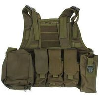 Жилет разгрузочный KINGRIN Tactical vest (OD) VE-03-OD   1347688, KINGRIN. Интернет-магазин Vseinet.ru Пенза