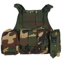 Жилет разгрузочный KINGRIN Tactical vest (Woodland) VE-03-WL   1347690, KINGRIN. Интернет-магазин Vseinet.ru Пенза