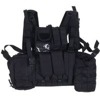Жилет разгрузочный KINGRIN Tactical vest with accessory (Black) VE-17-BK   1347700, KINGRIN. Интернет-магазин Vseinet.ru Пенза