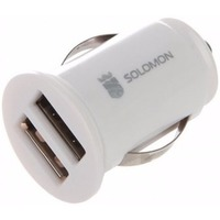 Solomon 2 USB 1A / 2.1A White. Интернет-магазин Vseinet.ru Пенза