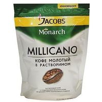 Кофе Jacobs Monarch Millicano, молотый в растворимом, 150 г, Jacobs Monarch. Интернет-магазин Vseinet.ru Пенза
