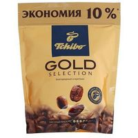 Кофе Tchibo Gold Selection, натуральный растворимый, сублимированный, 75 г, Tchibo. Интернет-магазин Vseinet.ru Пенза