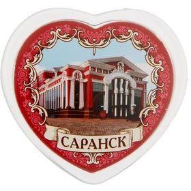 """Фото Магнит в форме сердца """"Саранск"""". Интернет-магазин Vseinet.ru Пенза"""