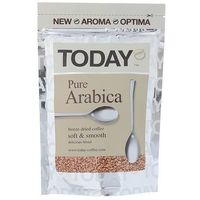 Кофе Today Pure Arabica, натуральный растворимый, сублимированный, 75 г, Today. Интернет-магазин Vseinet.ru Пенза
