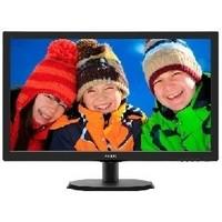 """Монитор Philips 21.5"""" 223V5LHSB2 (00/01) черный TFT LED 5ms 16:9 HDMI матовая 600:1 200cd 1920x1080 D-Sub FHD 2.61кг. Интернет-магазин Vseinet.ru Пенза"""