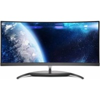 "Монитор Philips 34"" BDM3490UC (00/01) черный AH-IPS LED 21:9 HDMI M/M матовая 300cd 3440x1440 DisplayPort QHD USB 10.28кг. Интернет-магазин Vseinet.ru Пенза"