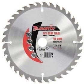 Пильный диск по дереву, 160х20мм, 48 зуба, + кольцо, 16/20// MATRIX Professional (73212)