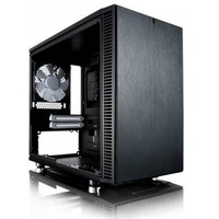 Корпус Fractal Design Define Nano S Window черный/черный без БП ITX 2xUSB3.0 audio bott PSU. Интернет-магазин Vseinet.ru Пенза