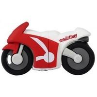 Флешка SmartBuy Wild  Motobike  16Гб,  USB 2.0, красный с белым (SB16GBBike ). Интернет-магазин Vseinet.ru Пенза
