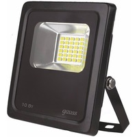 Gauss LED 10W COB IP65 6500К Black FL613100310. Интернет-магазин Vseinet.ru Пенза