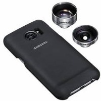 Чехол (клип-кейс) Samsung для Samsung Galaxy S7 Lens Cover черный (ET-CG930DBEGRU). Интернет-магазин Vseinet.ru Пенза