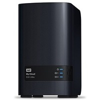 Сетевое хранилище NAS WD Original WDBSHB0000NCH-EEUE My Cloud EX2 Ultra 2-bay. Интернет-магазин Vseinet.ru Пенза