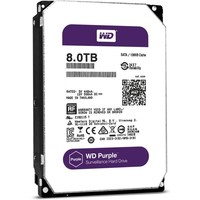 Жесткий диск HDD  Western Digital Purple WD80PUZX, 8000Гб, SATA 6Gb/s, 5400 об/мин, 128 Мб. Интернет-магазин Vseinet.ru Пенза
