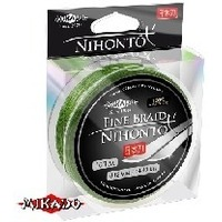 MIKADO (Z30G-014) NIHONTO FINE BRAID 0,14 green (100 м) - 9,70 кг.. Интернет-магазин Vseinet.ru Пенза