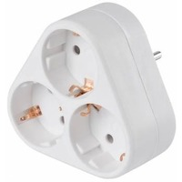 Сетевой разветвитель Buro BU-PS3VG-W (3 розетки) белый (пакет ПЭ). Интернет-магазин Vseinet.ru Пенза