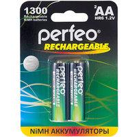 Аккумулятор AA Perfeo AA1300MAH-2BL, Ni-MH, 1300 mAh, 1.2 V (в упаковке 2 шт., цена за 1 шт.). Интернет-магазин Vseinet.ru Пенза